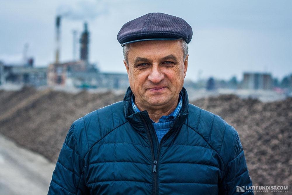 Роман Любаревич, заместитель директора по сырью Ильинецкого сахарного завода